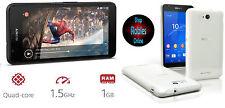 Sony XPERIA E4G LTE White (Ohne Simlock) 4G WLAN GPS 5MP QUAD-CORE Android 4 NEU