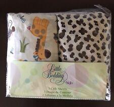 NoJo Little Bedding 2 Count Crib Sheet Set Jungle Dreams Bed Bath & Beyond Nib