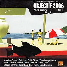 Compilation CD Les Inrockuptibles Objectif 2006 - Vol. 3 - France (VG+/EX)