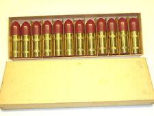 12x VINTAGE Bullet Brass LIGHTERS-Cartucce ACCENDINI-BENZINA-OVP-NICE