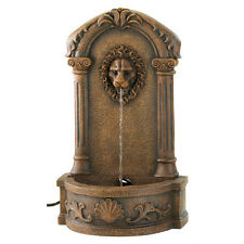 European Design Lion's Head Courtyard Outdoor Garden Fountain
