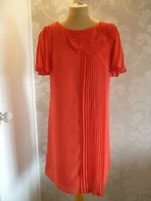 MONSOON red evening dress size 14