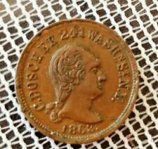 1863 Civil War Store Card Token C Doscher Ny Not One Cent Au