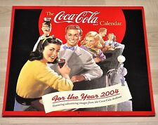 Belle ancienne Coca-Cola CALENDRIER 2004 USA Coke Calendrier