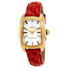 Invicta Lupah White Dial Ladies Watch 19944