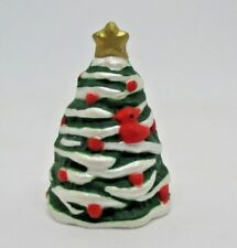 Hallmark Merry Miniatures Christmas Tree with Star and Cardinal