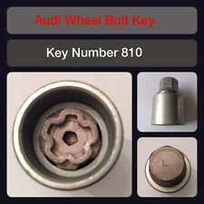 "Genuine Audi Locking Wheel Bolt / Nut Key 810 ""L"" 17 Hex"
