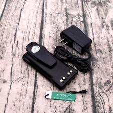 For Motorola 3000mAh Hnn9008 Hnn9009 Battery + Charger Ht750 Ht1250 Gp338 Gp340
