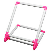 Embroidery Frame Practical Universal Clip Plastic Cross Stitch Hoop Stand H Q5J6