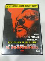Leon El Profesional Jean Reno Natalie Portman - Region 2 DVD Español Ingles - 3T