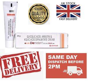 UK - Demelan Cream Glycolic Acid Kojic Acid cream 20g Reduce hyperpigmentation