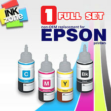 Full Colour Set di non-OEM ad alto rendimento INCHIOSTRI PER EPSON ECOTANK L386 L455 L550 L555