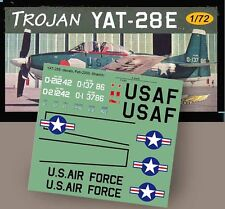 "TROJAN YAT-28E ""COIN"" decals 1/72 scale"