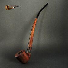 "TOBACCO SMOKING PIPE  Gandalf  Lotr Hobbit  CHURCHWARDEN   EXTRA LONG 14"" Brown"