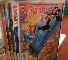Fantastic Four (2008) complete run #24-31 FINE