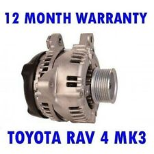 Toyota Rav 4 MK3 Mk III 2.0 2006 2007 2008 2009 - 2015 Rmfd Lichtmaschine