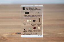 Mini Museum Limited 1st Edition — 11 Specimens — Kickstarter by Hans Fex — RARE