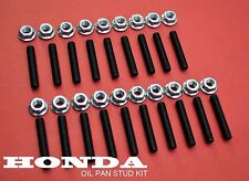 19 NEW HONDA CIVIC OIL PAN BOLT STUD KIT D15 / B16 / TYPE R / VTEC D H K SERIES