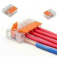10 X Universal Connection Terminal Wire Connector Space-saving Safe Anti-Le U4X4