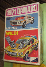 MPC 1971 Chevy Camaro RS Mild and Wild Chevrolet 3-in-1 Annual Kit Unbuilt 71