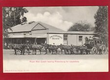 More details for royal mail donkey coach leaving pietersburg for leysdrop south africa pc am99