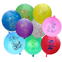 1-50 Large Punch Ball Balloons Kids Party Bag Filler Children's Toy Prize Gift