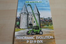 127598) Merlo Panoramic Evolution P 27.9 EVX Prospekt 04/1999