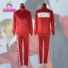 Haikyuu!! Cosplay Costume NEKOMA High School Volleyball Team women Jacket Coat