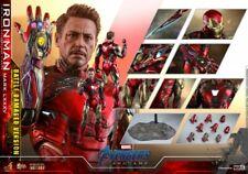 Deposit Hot Toys Avengers Endgame 1/6th Iron Man MK85 Damage Figure MMS543D33