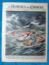 La Domenica del Corriere 19 giugno 1949 Portorico - Stromboli - Diga Europa