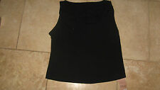 Marks and Spencer black embellished party top - size 16 BNWT