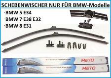 2x Wischerblätter für BMW E34 E38 E32 E31 Scheibenwischer  600-600mm