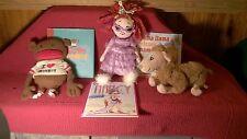 CLASSROOM LIBRARY BOOKS & TOYS FANCY NANCY LLAMA LLAMA I LOVE MONKEY plush
