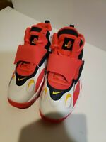 Nike Air Speed Turf GS Red Orbit White/Laser Orange/Red Orbit BQ9632-102 Sz 5Y