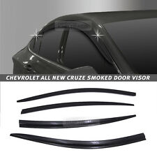 Out-Channel Vent Shade Window Visors Rain Guards for CHEVROLET 2017-2018 Cruze