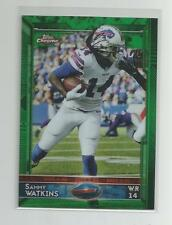 2015 Topps Chrome  SAMMY WATKINS  Green Refractor