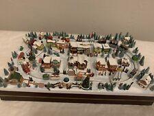 """2008 Thomas Kinkade Hawthorne miniature Christmas village """"Christmas Parade�"""