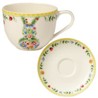 VILLEROY & BOCH Spring Awakening 2er Set Kaffeetasse mit Untertasse Hase Ostern