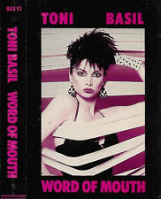 Toni Basil  Word Of Mouth CASSETTE ALBUM Electronic Pop Synth-pop