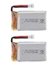 2x 3.7V 1100mah 25C 1S VOLT 30C Lipo Battery For Syma X5SC X5SW Helicopter
