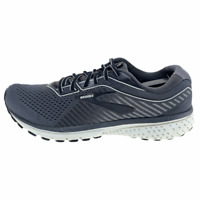 Brooks Mens Ghost 12 1103161D075 Gray Running Shoes Lace Up Low Top Size 9.5 D
