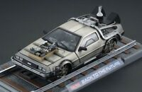 Retour vers le Futur 3 DeLorean LK Coupé 1981 1/18 Back to the Future III 27144