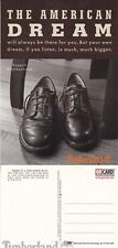 TIMBERLAND BOOTS & SHOES UNUSED ADVERTISING COLOUR POSTCARD (a)