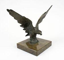 Schreibtischdekoration Adler auf Marmorplatte