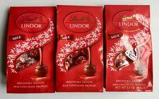 Lindt Lindor Milk Chocolate Truffles ~ 3 Bags 5.1 oz  Each BB 7/31/20 FREE SHIP