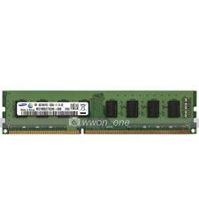 Samsung 4GB PC3-12800 DDR3 1600MHz 240Pin UDIMM Desktop Memory RAM Low Density