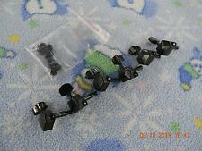 Set Of Squier Black Closed Back Tuners,RH, All Bushings and Screws