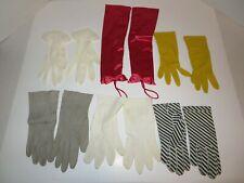 Lot of 6 Pair of Vintage Women's Gloves-Prescendoe; Japan; Others