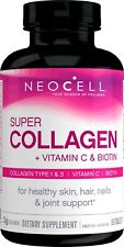NeoCell Super Collagen (Types 1 & 3) + Vitamin C Tablets 90 Ct