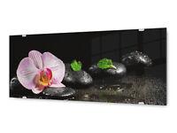 Glasbild Wandbild GLX12568327108 Wellness Feng Shui 125 x 50cm